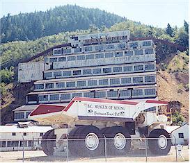 Britannia Mine Museum - britannia beach, british columbia